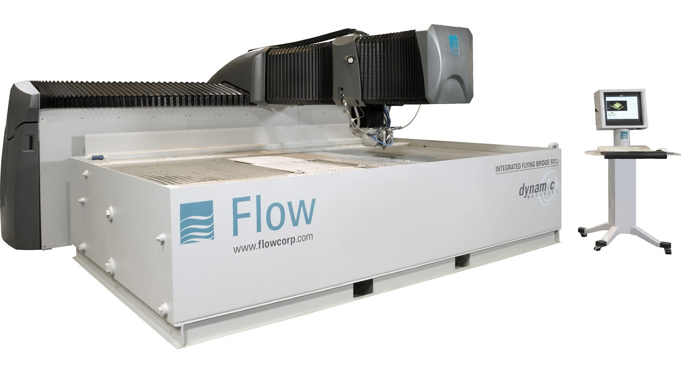Churchill Manufacturing CNC Flow Water Jet Cutting Machine
